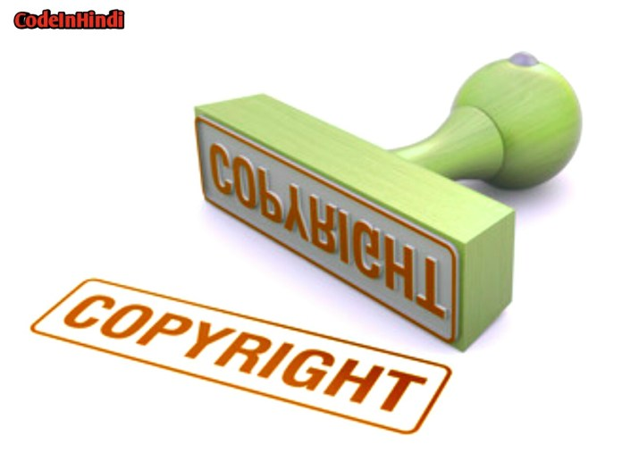 What is copyright material
