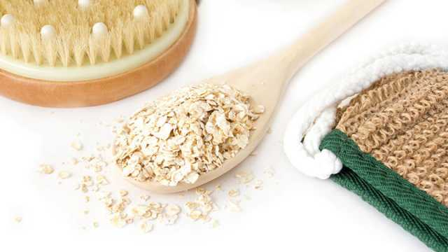 Oatmeal-bath-for-pregnancy-stretchmarks-in-hindi